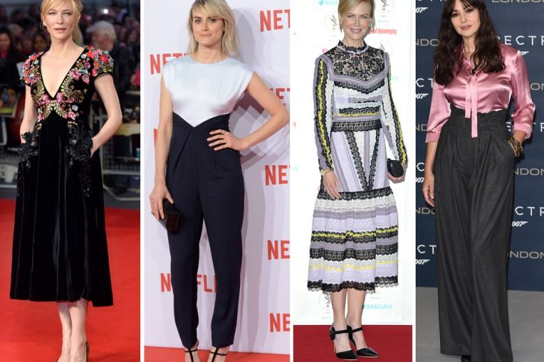 Le star meglio vestite della settimana: da Nicole Kidman a Lea Seydoux