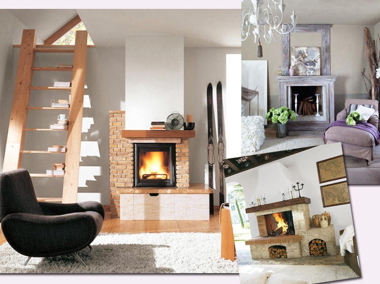 I camini rustici pi belli per una casa calda e - Camini per casa ...