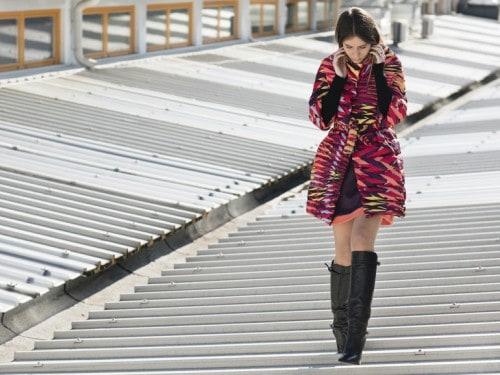 reputable site 1ff6a c3771 Chiara Capitani indossa il nuovo piumino di M Missoni ...