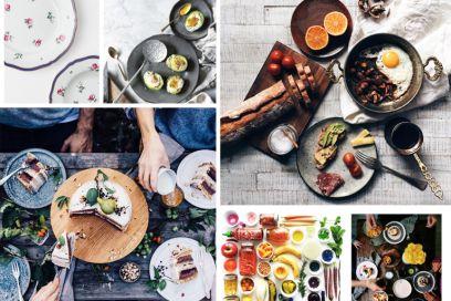 Come fotografare la tavola su Instagram: 10 regole da non perdere