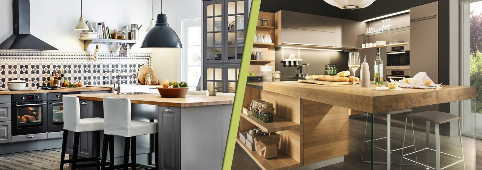 Disegno piani lavoro cucina : Cucine con piano di lavoro in legno: i modelli più belli - Grazia.it