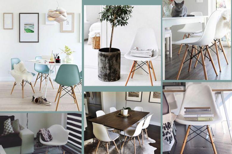 Eames Plastic Side Chair: dove la metti, sta (bene)!