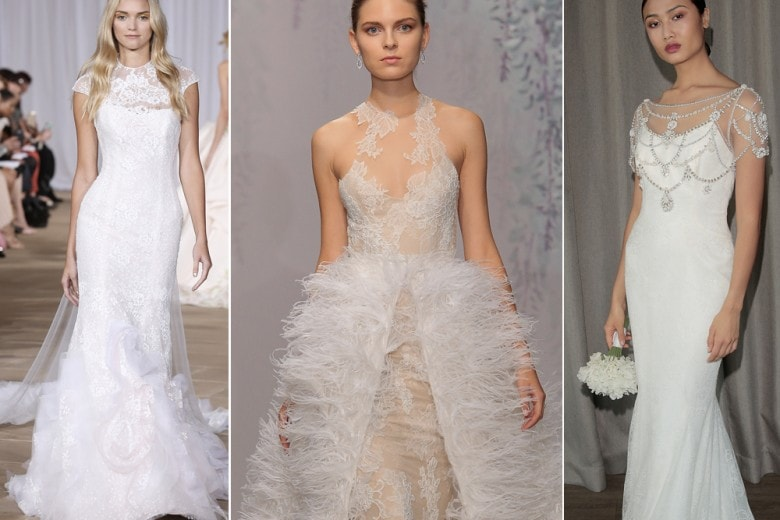 I trend sposa 2016 dalla New York Bridal Fashion Week
