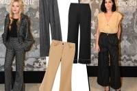 Pantaloni flare: i modelli per l'Autunno-Inverno 2015