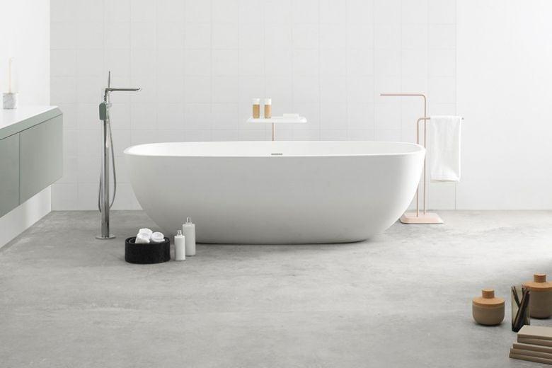 Volete una spa in casa? Comprate una vasca freestanding