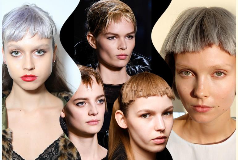 Frangia d'ispirazione punk: la tendenza capelli Autunno-Inverno 2015-16