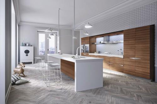 cucina Time noce canaletto 1 - Foto - Grazia.it