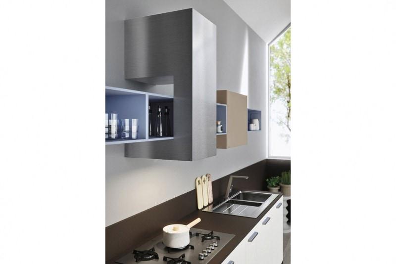 cucina dettaglio Code grigio piuma 3