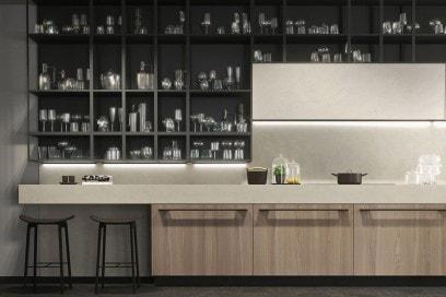 cucina dettaglio Opera olmo natural 1