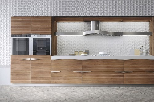 cucina dettaglio Time noce canaletto 1 - Foto - Grazia.it