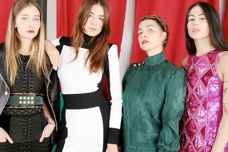 Balmain X H&M: la collezione interpretata dalle it-girls