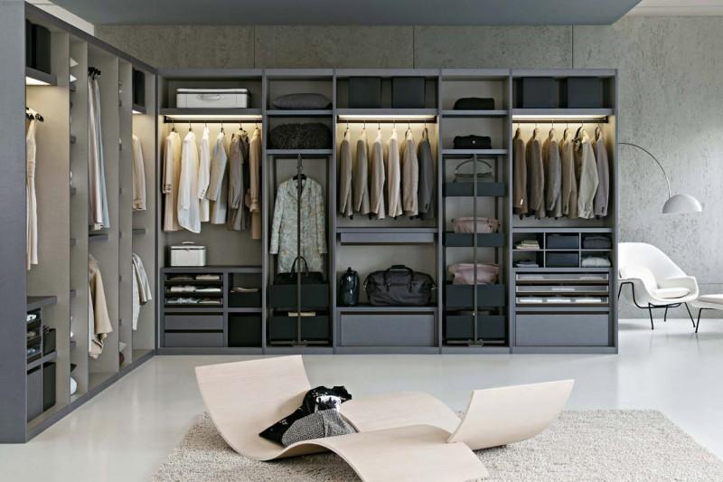 Come realizzare la perfetta cabina armadio - Cabina armadio mansarda ikea ...