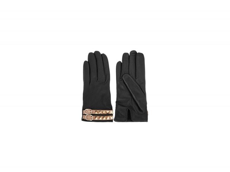 guanti pelle valentino