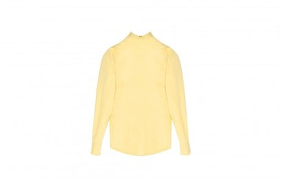 jiil sander camicia giallo
