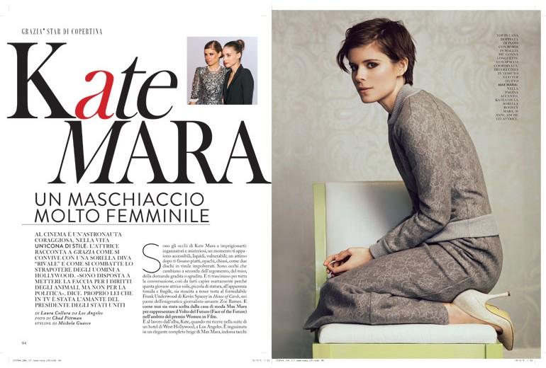 Kate Mara: un maschiaccio molto femminile