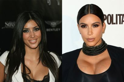kim kardashian ieri oggi