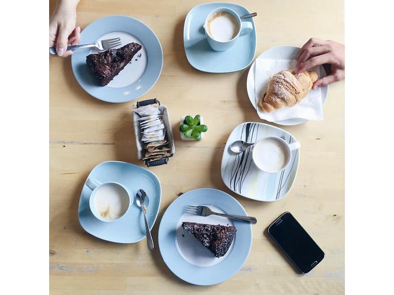 @ladrasanse – Oggi colazione veloce