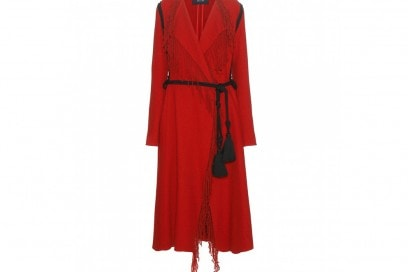 lanvin cappotto rosso