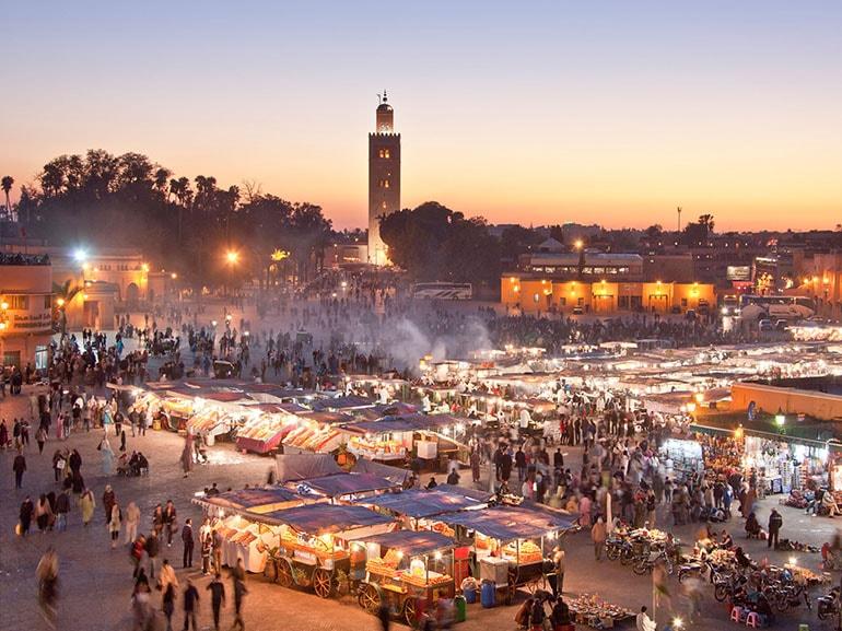 marrakech piazza mercato