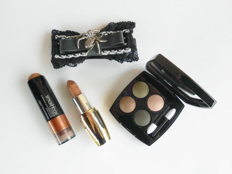 nail-art-halloween-spider-makeup