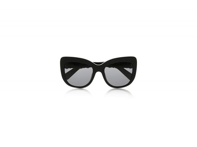 occhiali neri dolce gabbana