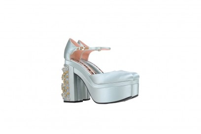 rochas scarpe plateau gemme
