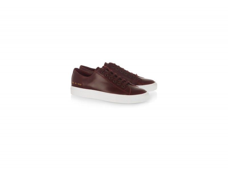 sneakers pelle common projects