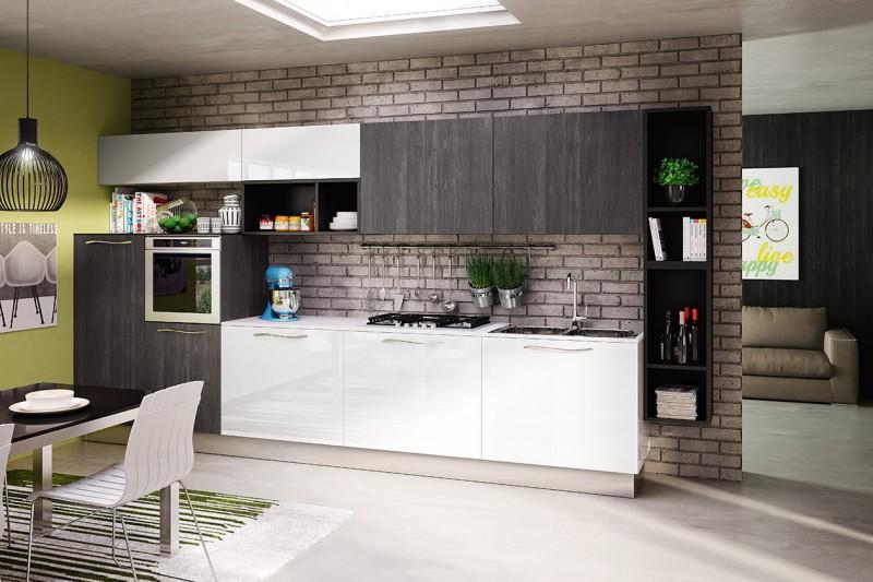 una cucina che nasce con lintento di portare un tocco di calore in casa mantenendo la freschezza della primavera soleggiata calda