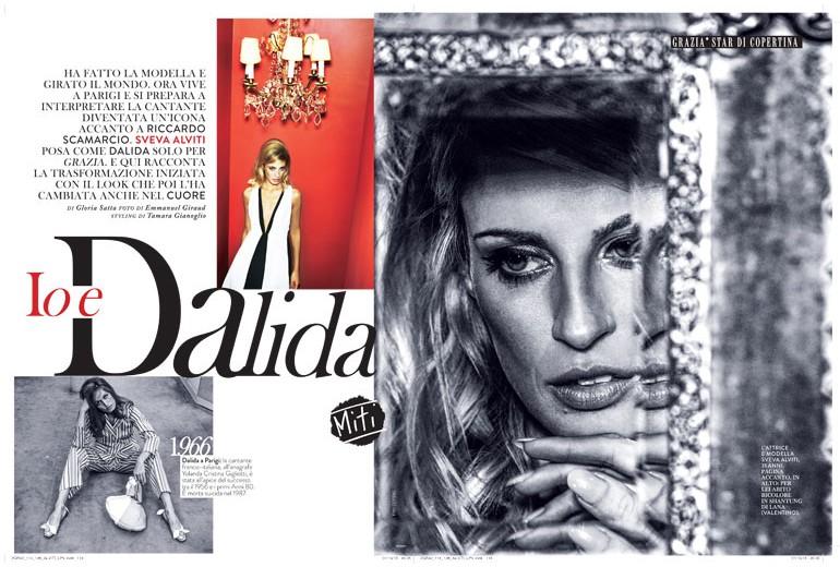 Sveva Alviti: «Io e Dalida»