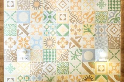 testata e mosaico