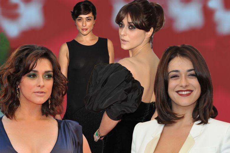Valentina Lodovini capelli: dal taglio wob alla frangia