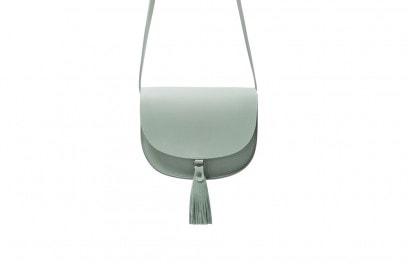 zara borsa tracolla verde acqua