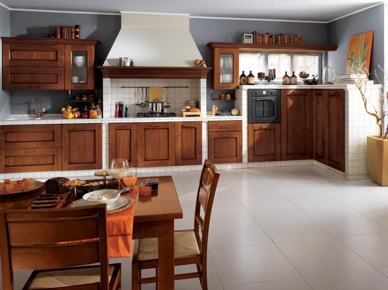 Cucine in muratura classiche rustiche e country - Cucine scavolini country ...