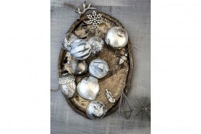 Argento, cristalli e oro