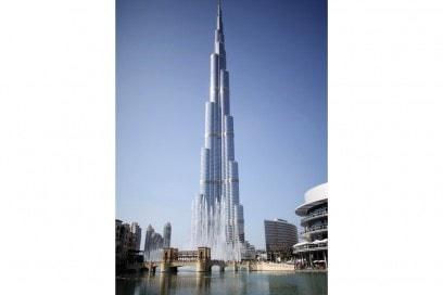 General view of Burj Khalifa, the world's tallest tower, in Dubai