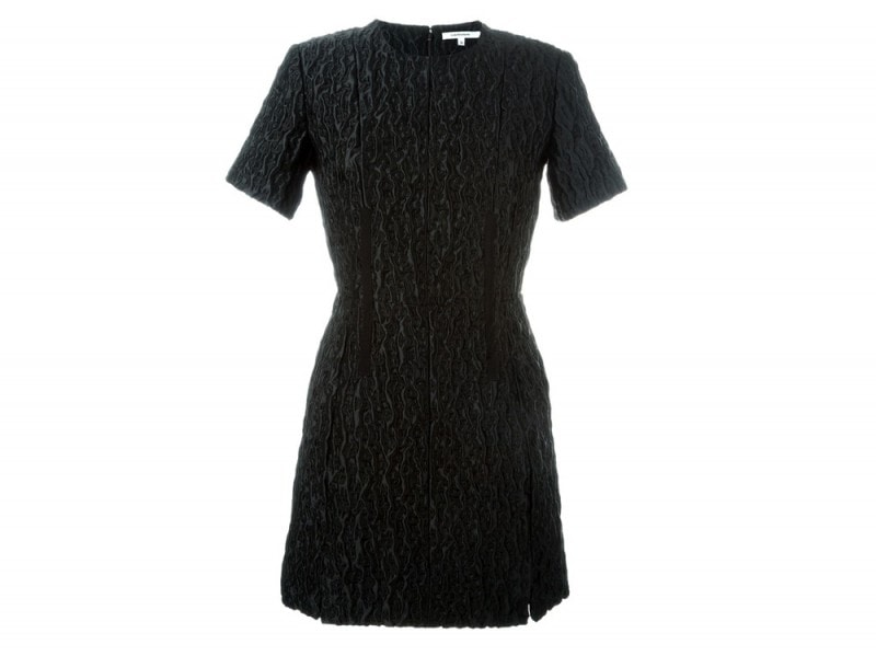 CARVEN–shortsleeved-brocade-dress_FF