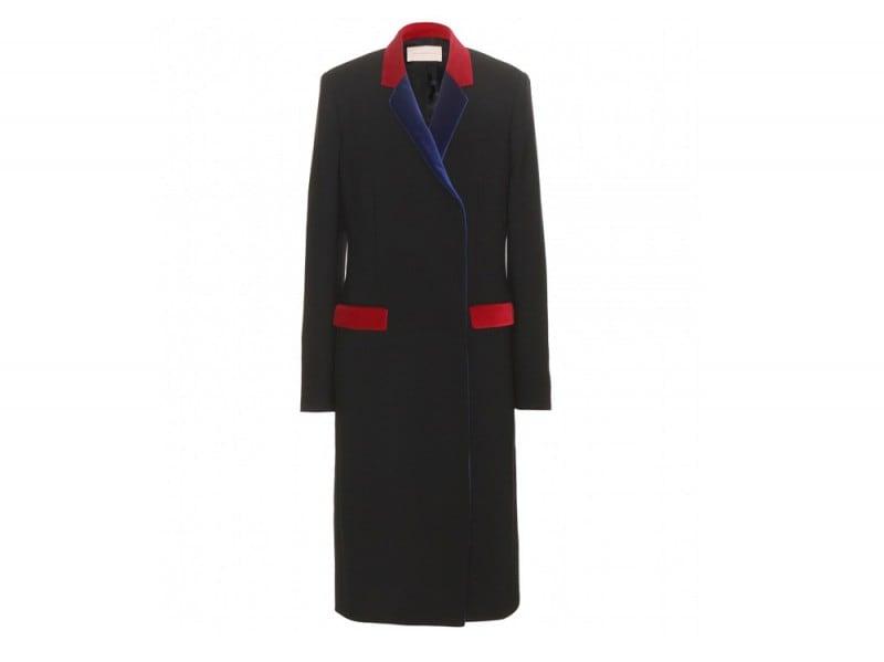 CHRISTOPHER-KANE-Velvet-trimmed-wool-blend-coat_mytheresa