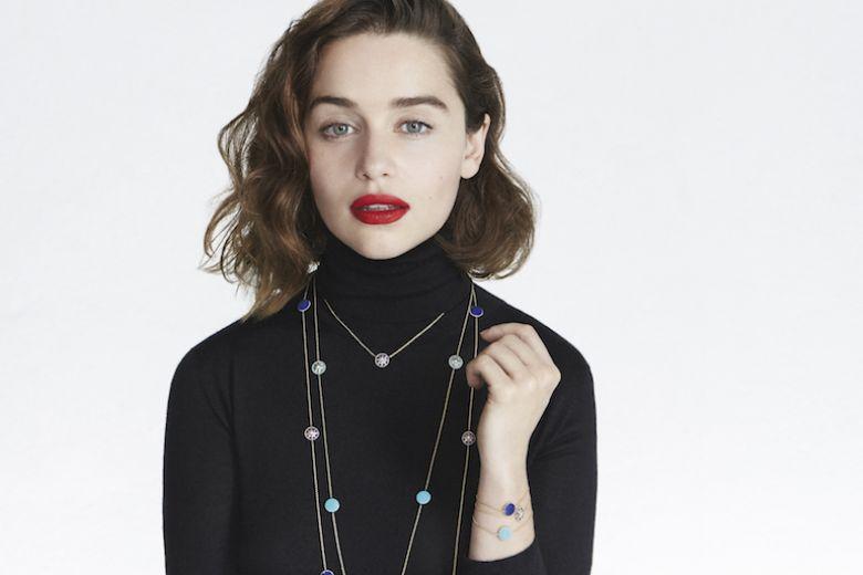 Emilia Clarke è il nuovo volto di Dior Joaillerie