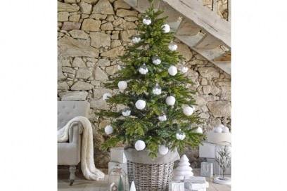 Decorazioni bianche per l'albero con Maisons Du Monde
