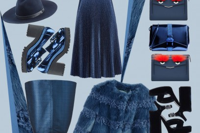 Tendenza blu: i must have per l'Autunno-Inverno 2015/16
