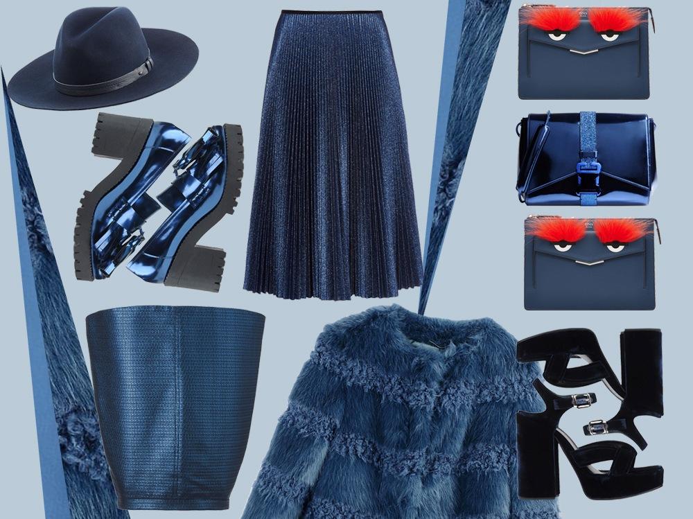 Tendenza blu: i must have per l'Autunno Inverno 201516