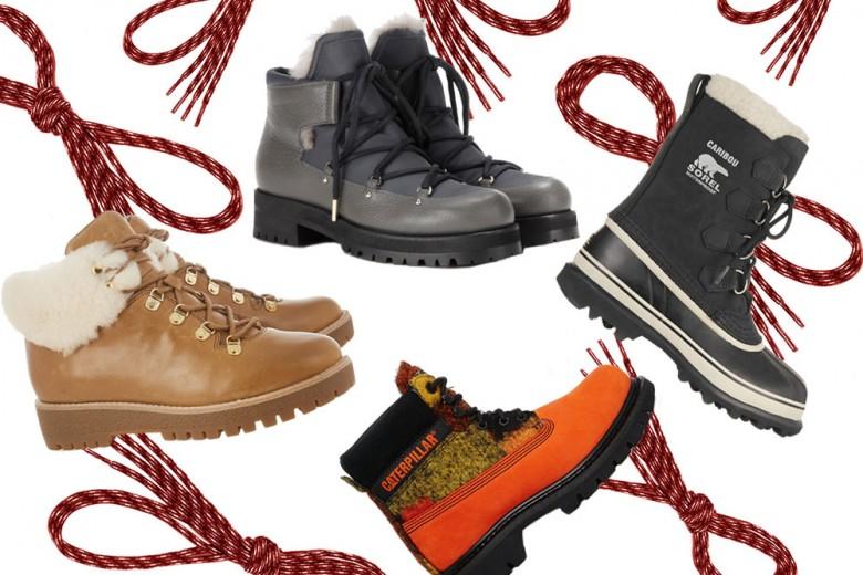Scarponcini e stivali da montagna