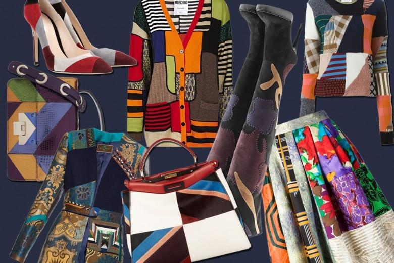 Tendenza patchwork: capi e accessori per l'inverno 2015