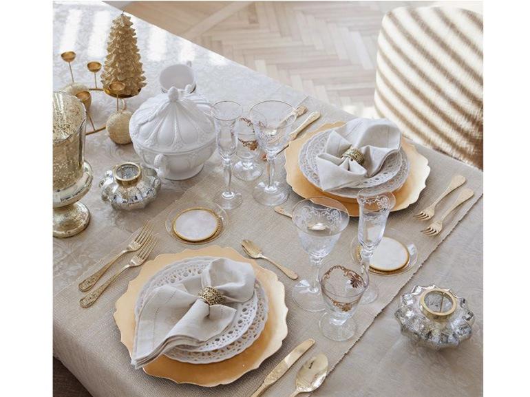 Bianco Natale Decorazioni Total White Per Le Feste Grazia