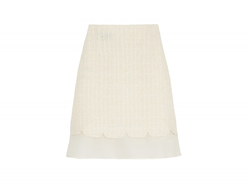 GIAMBATTISTA-VALLI-Silk-organza-trimmed-boucle-mini-skirt_NET