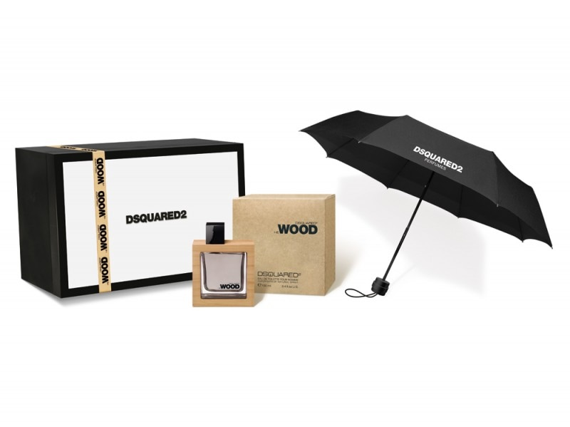 He-Wood-Umbrella-Black&White-Set