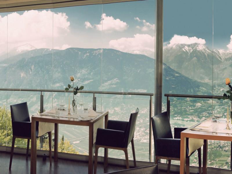 Hotel Miramonti vista dal ristorante