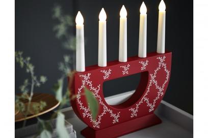 Il candelabro a LED STRALA