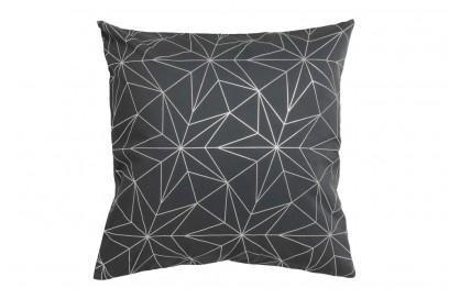 Il cuscino grigio con le stelle