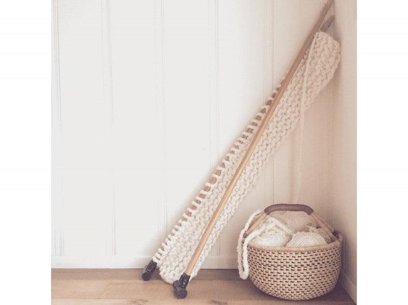 Il maxi lavoro a maglia